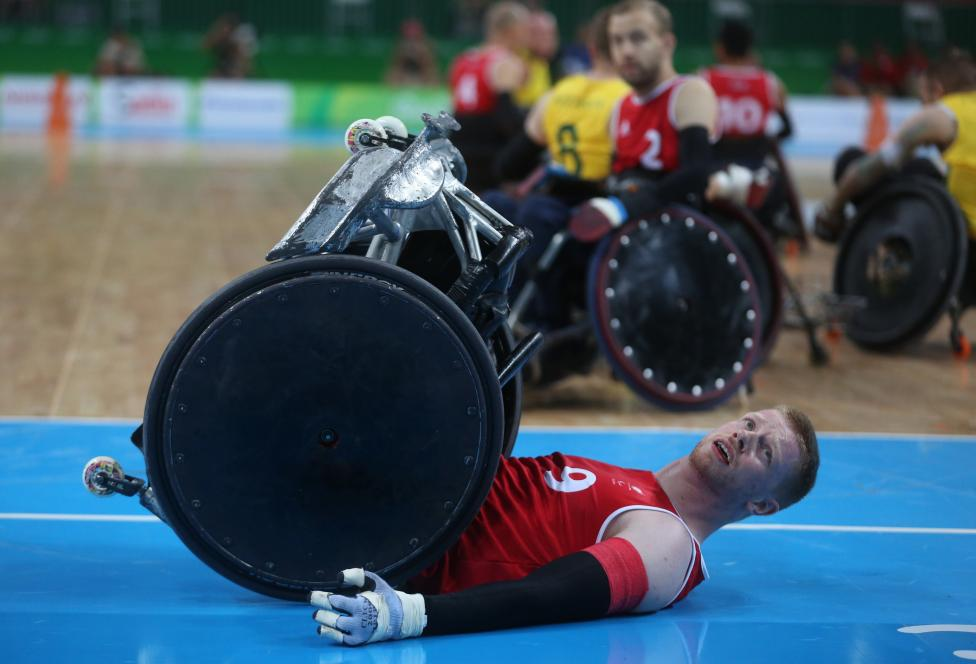 Wheelchair Rugby - Mixed Pool Phase Group A