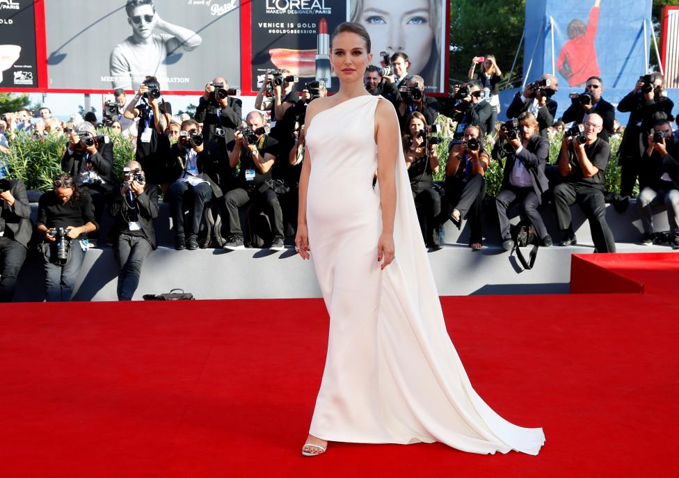 """Actress Natalie Portman attends the red carpet for the movie """"Planetarium"""" at the 73rd Venice Film Festival in Venice"""