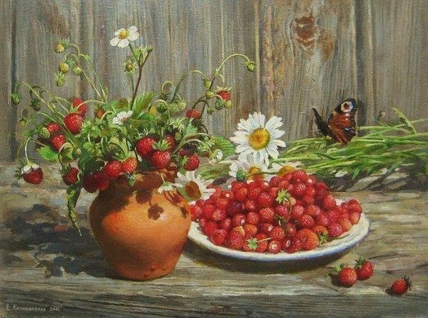 Художник Екатерина Калиновская «Лето в деревне»