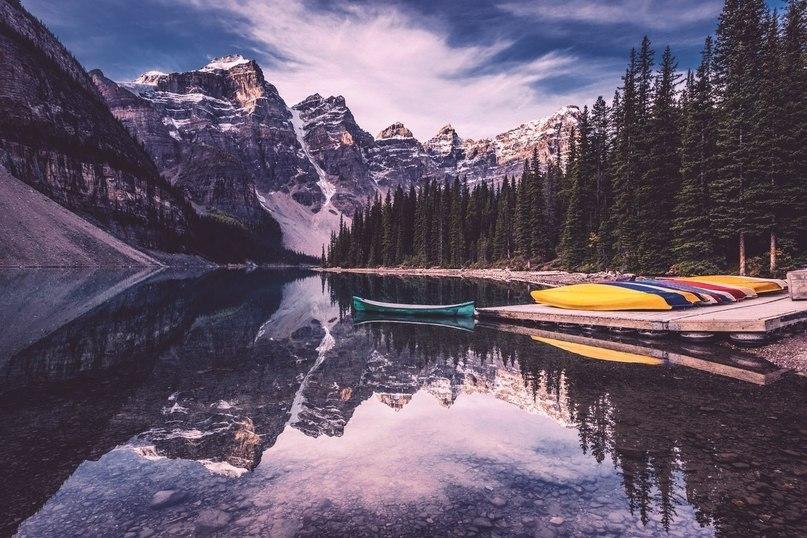 Живописные пейзажи Канады