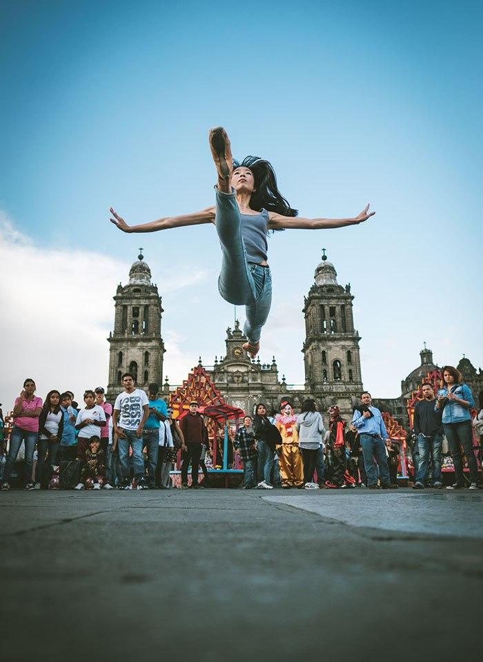 Танцоры на улицах Мексики и Кубы в объективе фотографа Omar Robles