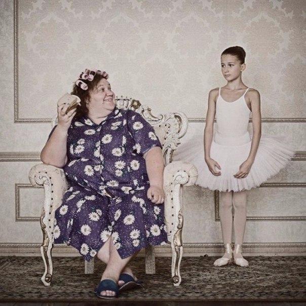 Обратная сторона материнской любви в фотопроекте Анны Радченко