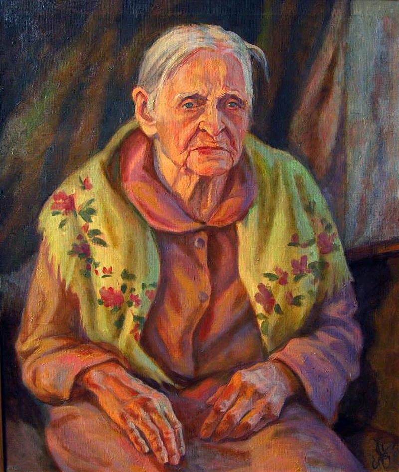 Когда так нужен кусочек душевной теплоты: Русские бабушки в живописи