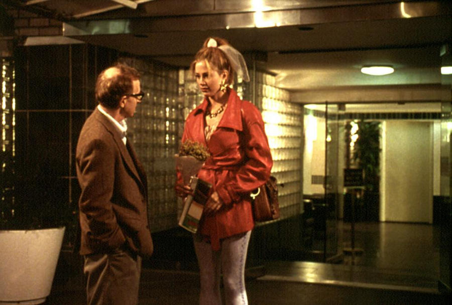 MIGHTY APHRODITE, Woody Allen, Mira Sorvino, 1995