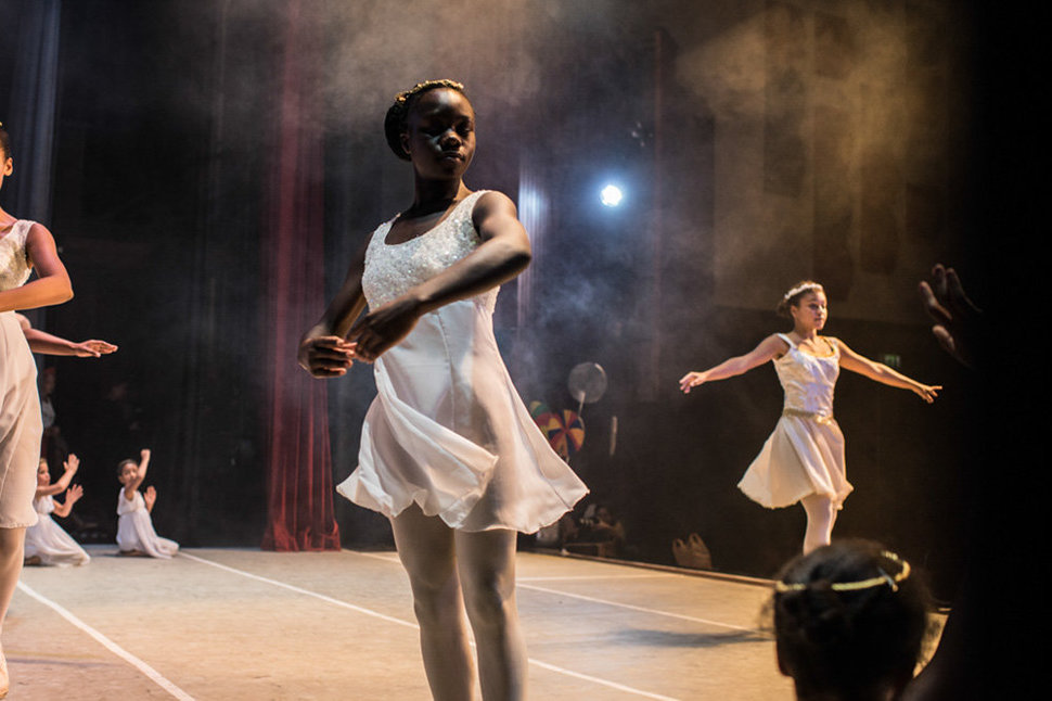 Pamela is now dancing in a Ballet studio named dance centre kenya and she moved to a boarding school outside of Kibera slum, so her life has improved because of her talent as a dancer