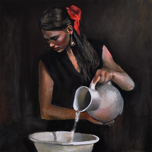 Женская грация на картинах художника Emilii Wilk