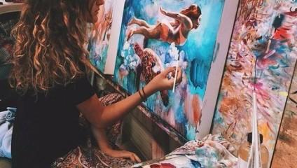 Работы 16-летней художницы Dimitra Milan