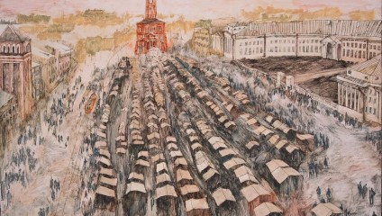Владимир Гиляровский «Москва и москвичи»: иллюстрации Anna Sladkova