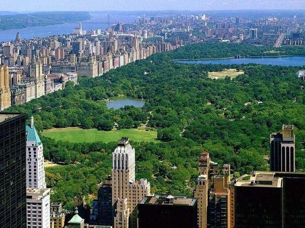 Центральный парк, Нью-Йорк, США — оазис в каменных джунглях