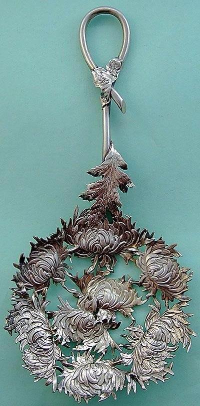 Серебряные ложки для конфет 1890-1910-х годов