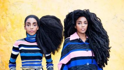 Близняшки Cipriana Quann и TK Wonder взорвали Instagram своими роскошными натуральными волосами