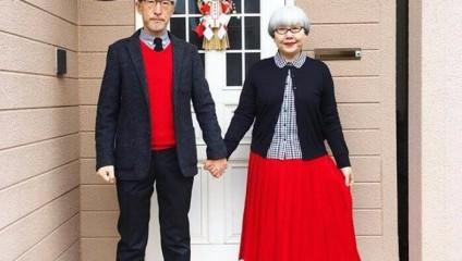 Муж и жена на протяжении 39 лет всегда надевают похожую одежду