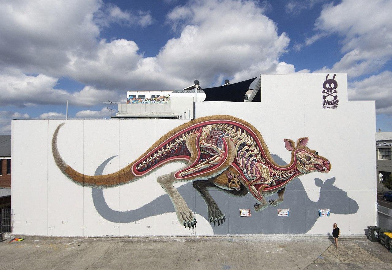 Невероятный стрит — арт  от художника Nychos
