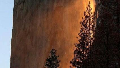 Удивительный водопад