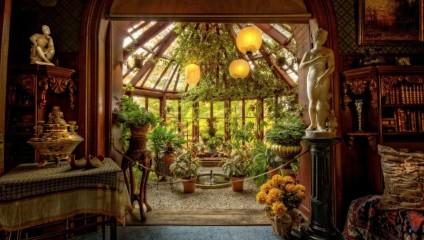 Дом Марка Твена в Хартфорде, штат Коннектикут