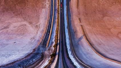 Теxас с высоты. Фотограф Aydin Büyüktas
