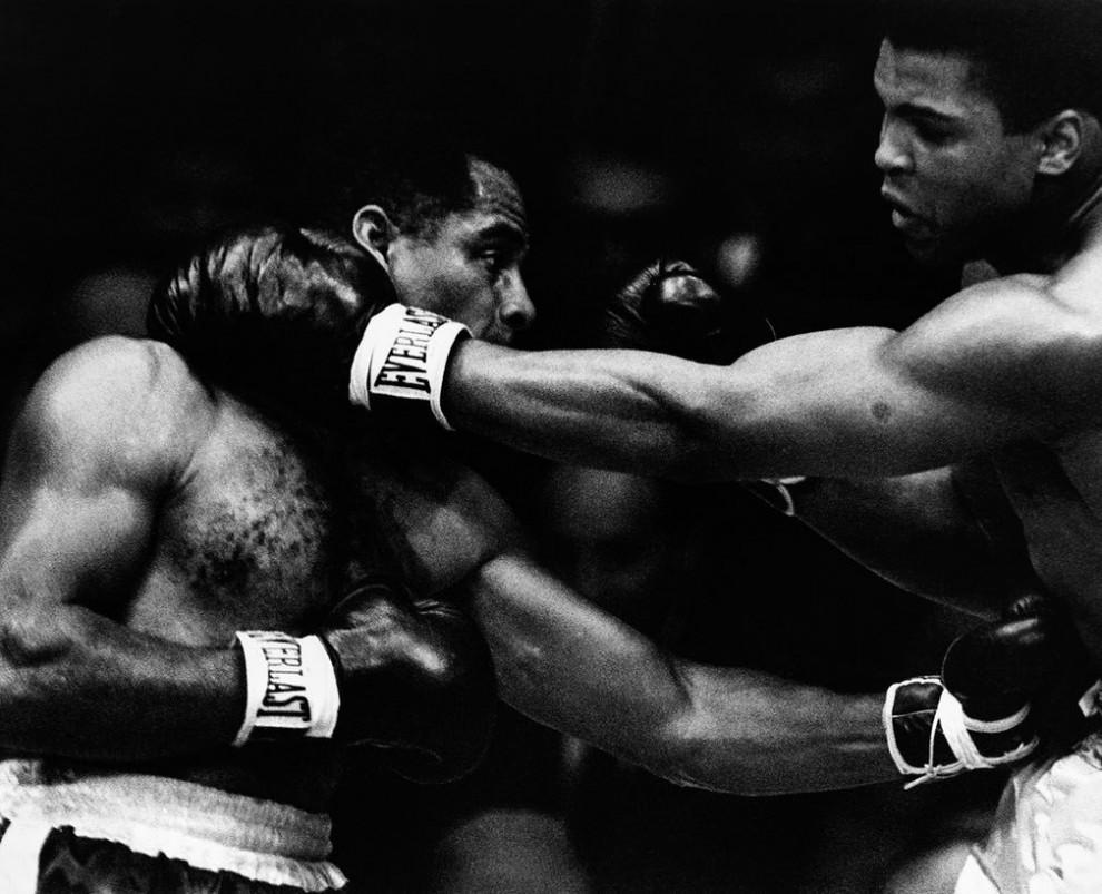 Поединок между Зорой Фоли и Мохаммедом Али в марте 1967 года.
