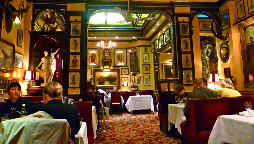 Rules Restaurant в Лондоне