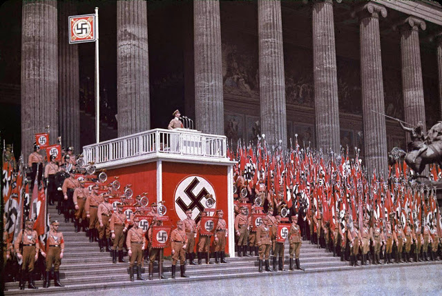 the causes of the acceptance of hitlers orders and propaganda among the people of germany Of jews in germany following adolf hitler's rise hitler used all the arts of propaganda to allay in their acceptance of nazi.