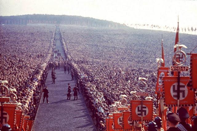Всегерманский праздник урожая (Reichserntedankfest), 1934 год.
