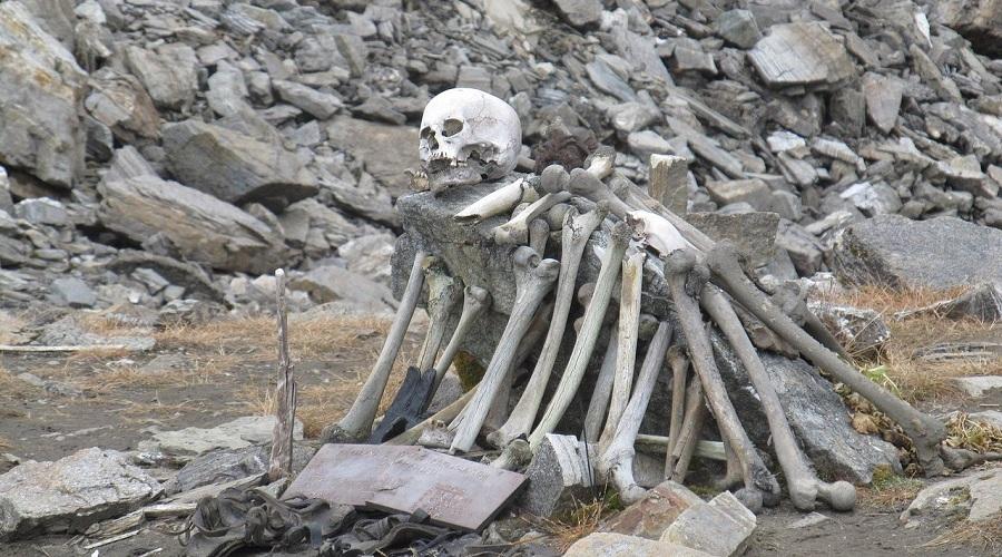 Скелетово озеро
