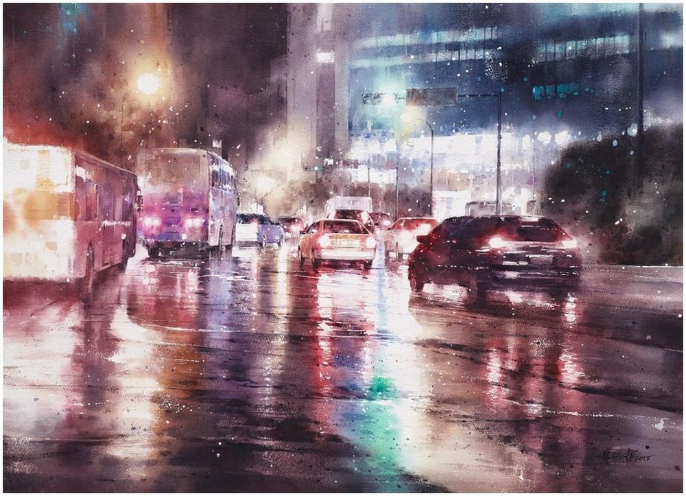 Akvarelnye-kartiny-Lin-Ching-Che_3