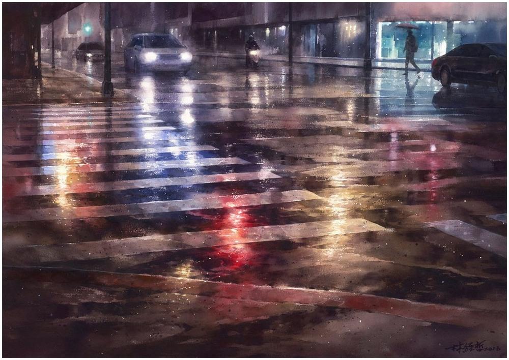 Akvarelnye-kartiny-Lin-Ching-Che_4