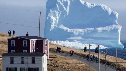 У побережья Канады начался сезонный дрейф айсбергов