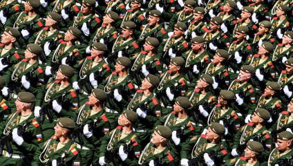 День Победы 2017 на Красной площади
