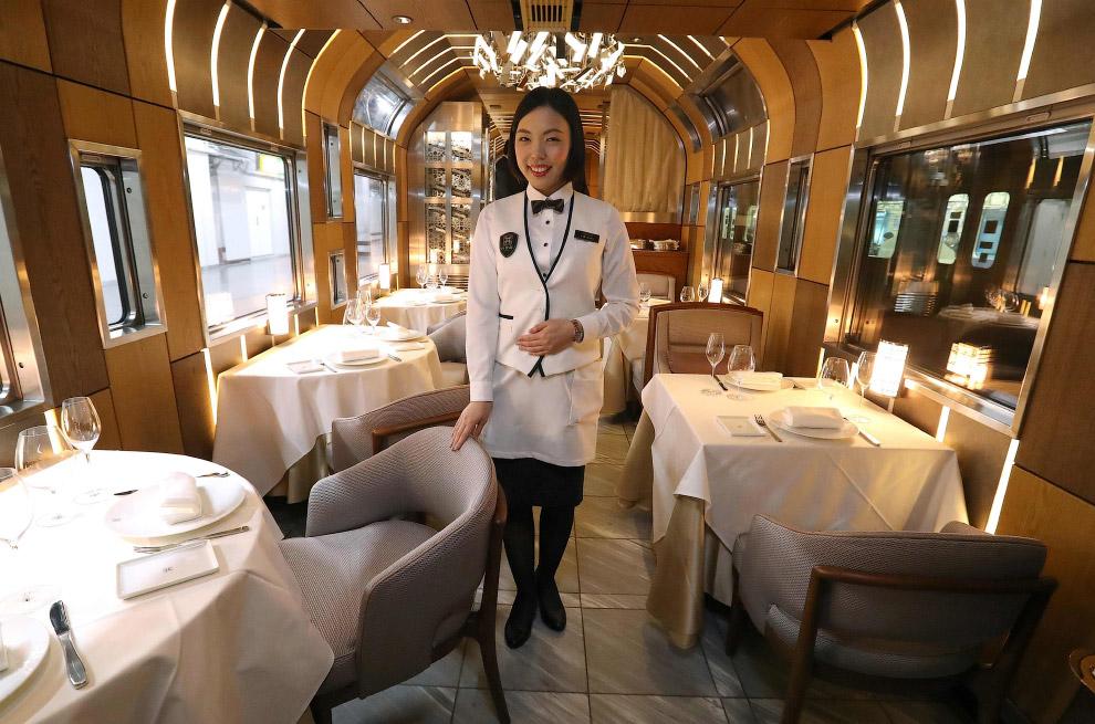 Факты о новом роскошном поезде Японии
