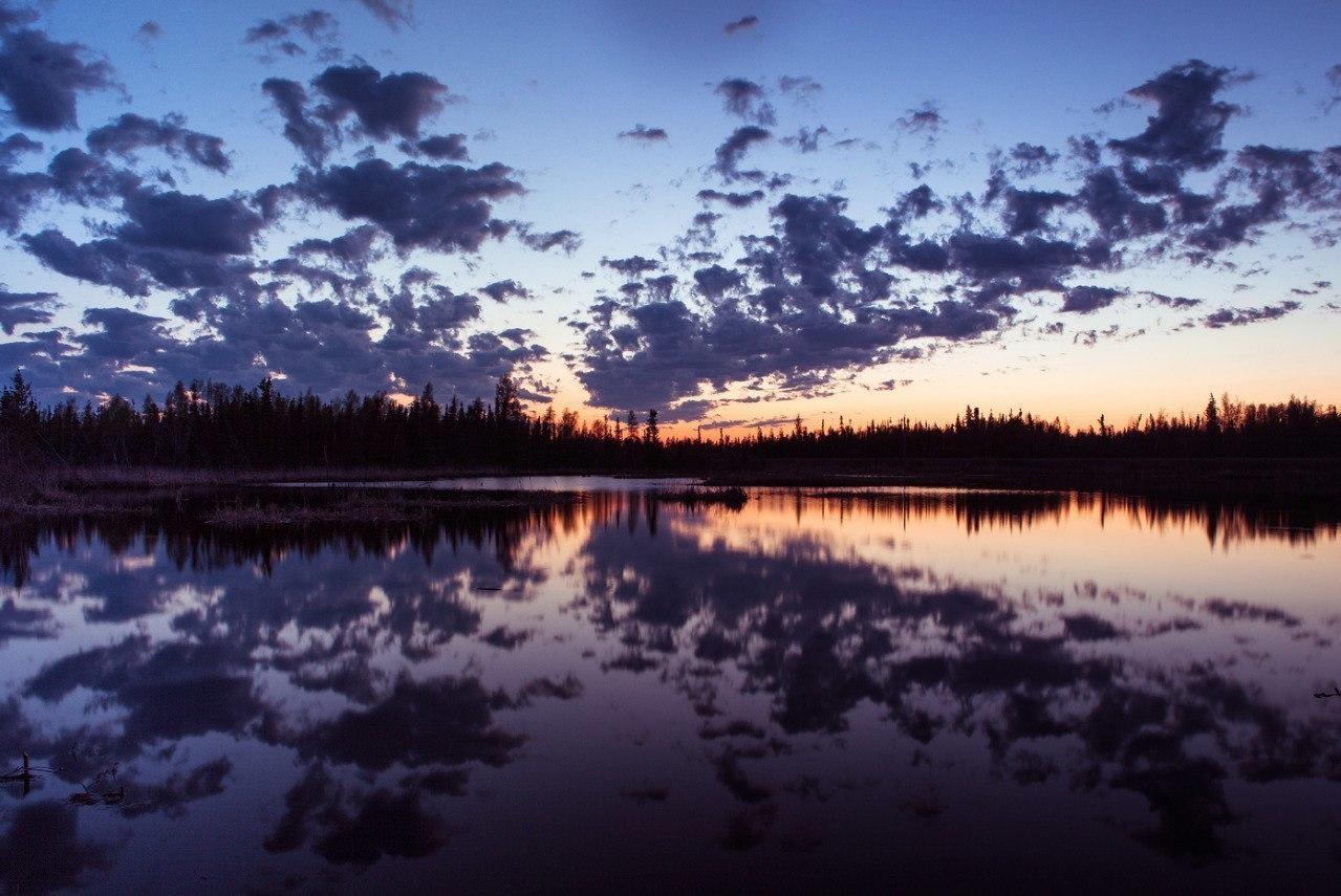 Чарующие закаты. Фотограф Dave Brosha