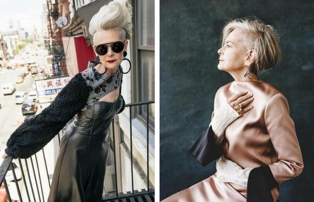 63-летняя преподавательница из Нью-Йорка, которая даст фору любой иконе стиля