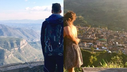 Врозь, но вместе: влюблённые фотографируются в разных концах света и создают совместные коллажи