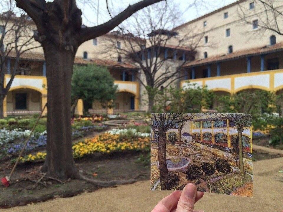 Места, где Ван Гог писал свои картины в Арле