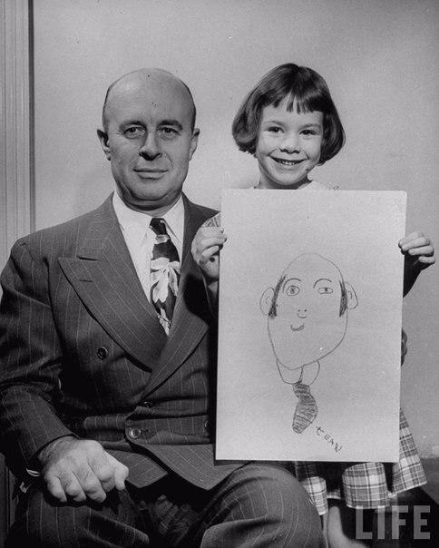 День отца в далеком 1949 году