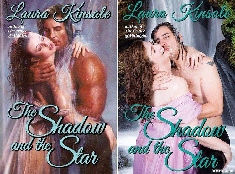 Когда Фабио — Денис: обычные люди воссоздают обложки любовных романов