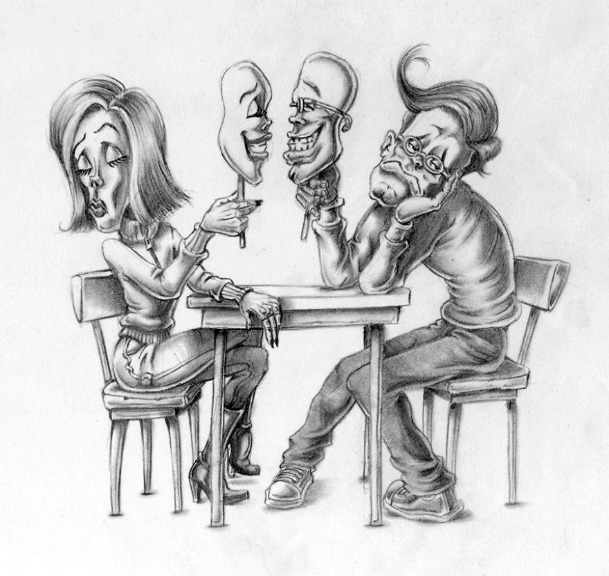 Иллюстрации о современном обществе от аргентинского художника, который никому не угождает