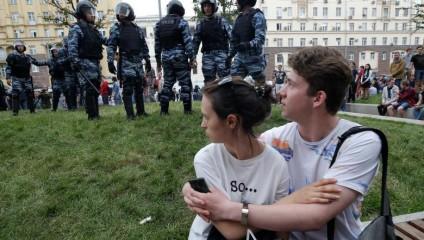 Задержания на антикоррупционных митингах в День России