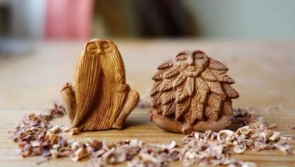 В то время, пока большинство людей выбрасывают косточки от авокадо, Jan Campbell создает из них потрясающие миниатюры