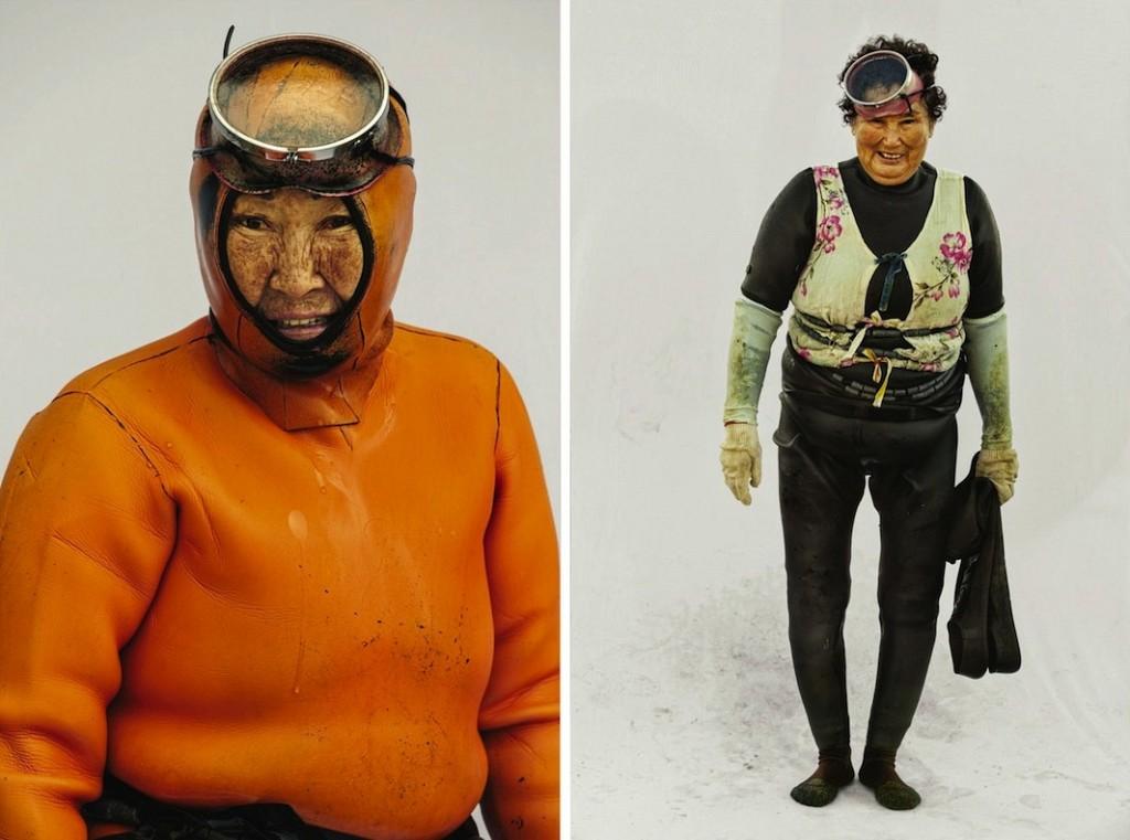 Хэнё — женщины моря. Фотограф Хёнг С. Ким