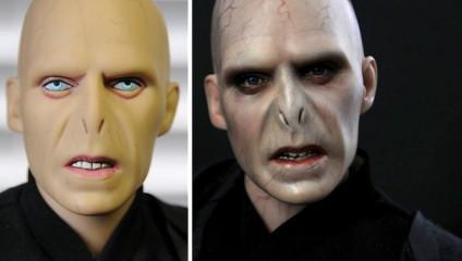 Художник Noel Cruz стирает лица с кукол знаменитостей и рисует заново