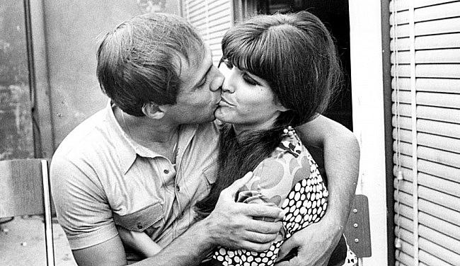 История любви Адриано Челентано и Клаудии Мори в фотографиях