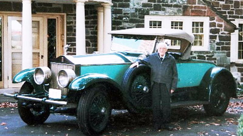 78 лет на одной и той же машине: Вечный Rolls-Royce Phantom I 1928 года