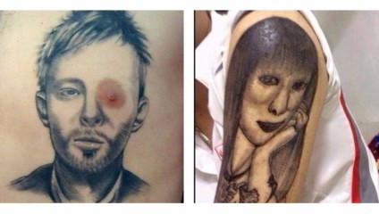 Самые нелепые и безобразные татуировки