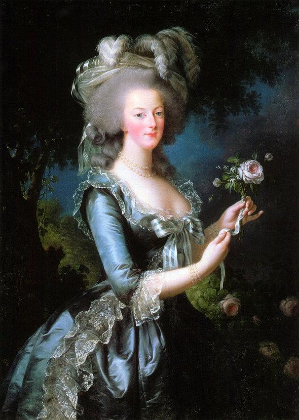 Французская королева Мария Антуанетта
