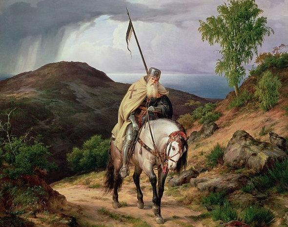 Нет исторических подтверждений того, что крестоносцы использовали пояса верности для своих жён на время походов