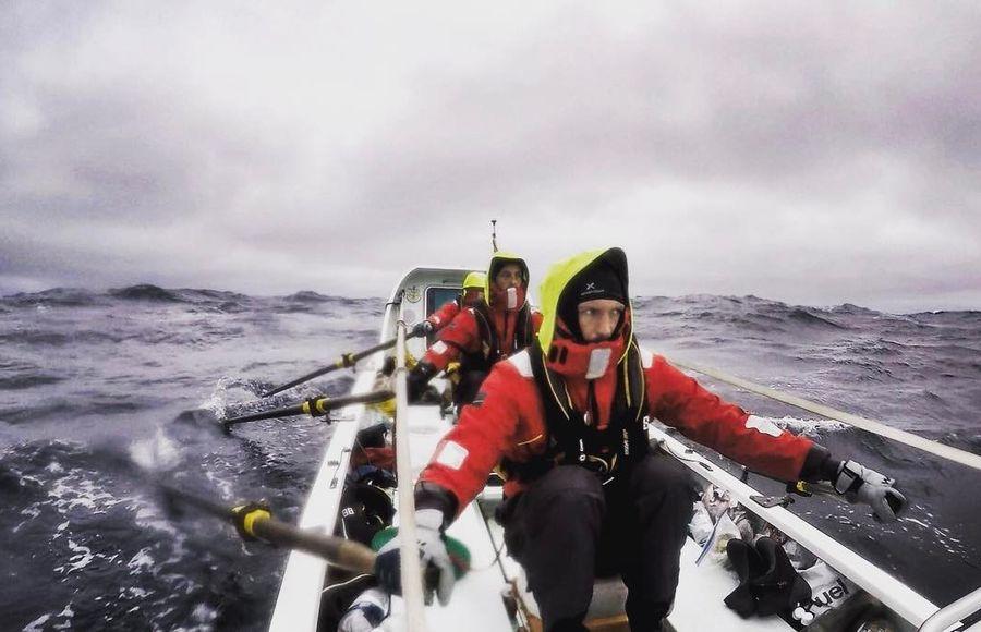 Как выглядят руки гребца после 30-дневного плавания по Арктике