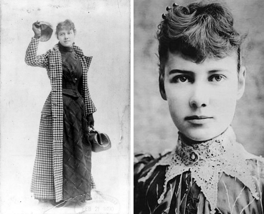 Нелли Блай (англ. Nellie Bly, настоящее имя Элизабет Джейн Кокран, англ. Elizabeth Jane Cochran; 5 мая 1864 (или 1867), Кокранс-Миллз, штат Пенсильвания — 27 января 1922, Нью-Йорк) — американская журналистка, писательница, предпринимательница.