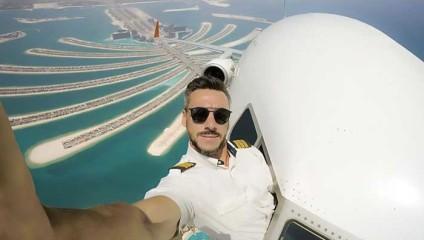 Селфи в небесах: Что на самом деле скрывается за провокационными фото пилота