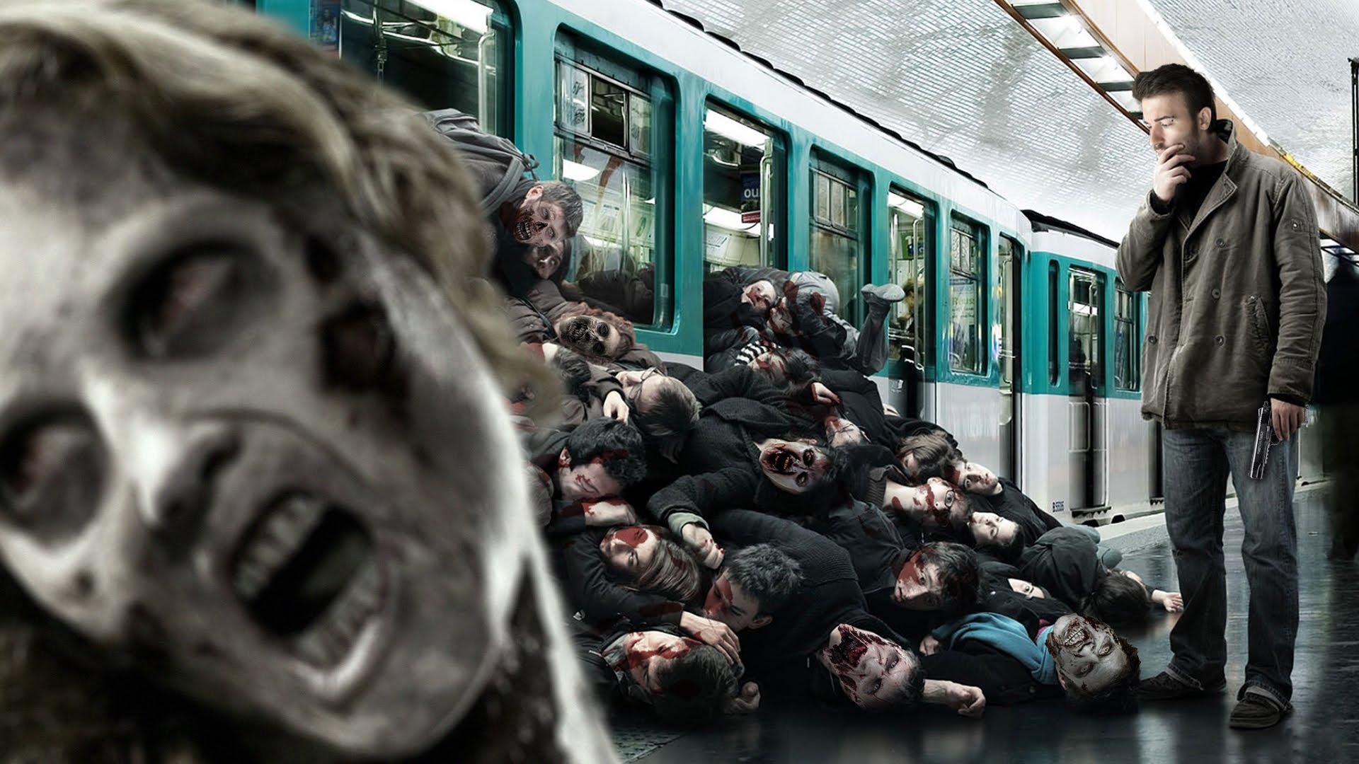 Как выжить в московском метро, если возникнет зомби-апокалипсис